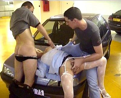 plombier sex salope parking